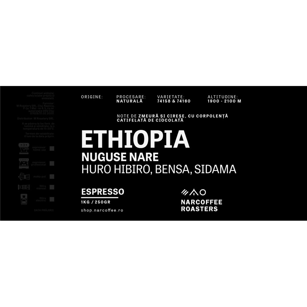 Ethiopia Nuguse Nare Espresso