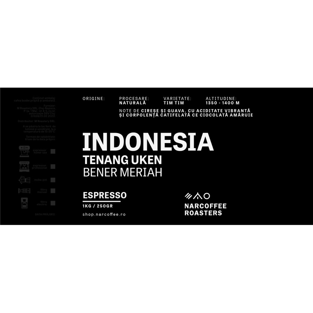 Indonesia Tenang Uken Espresso