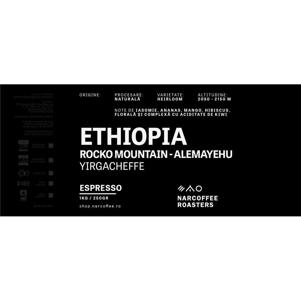 Ethiopia Rocko Mountain Espresso