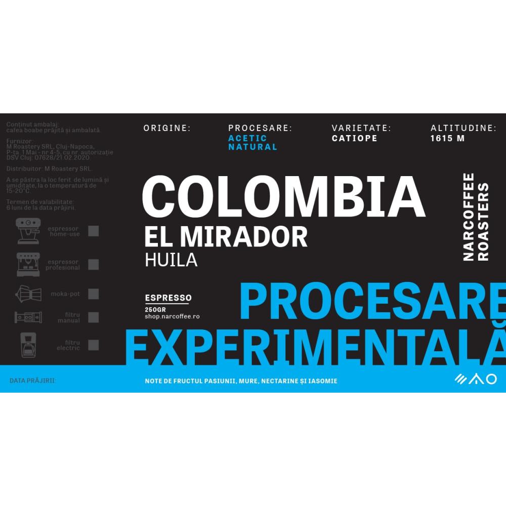 Colombia, El Mirador - Acetic Natural Espresso
