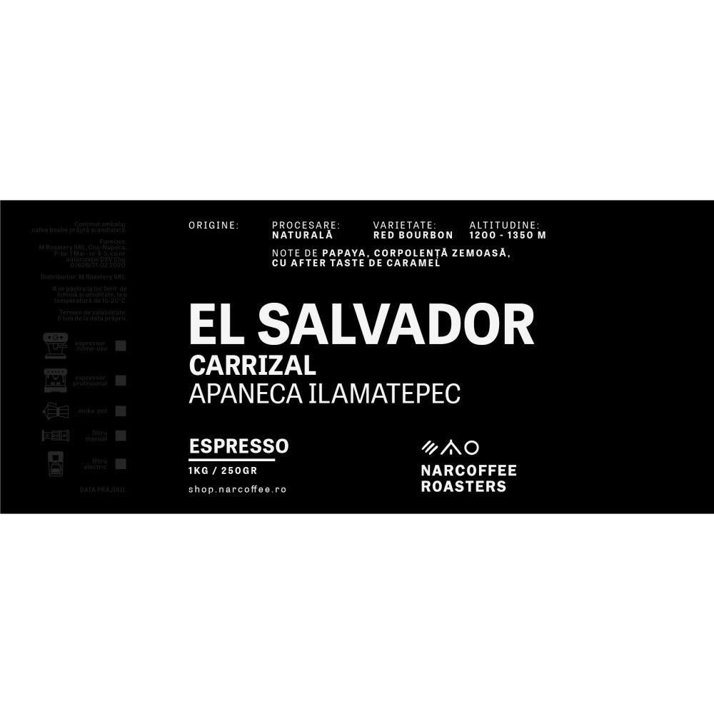 El Salvador Carrizal Espresso