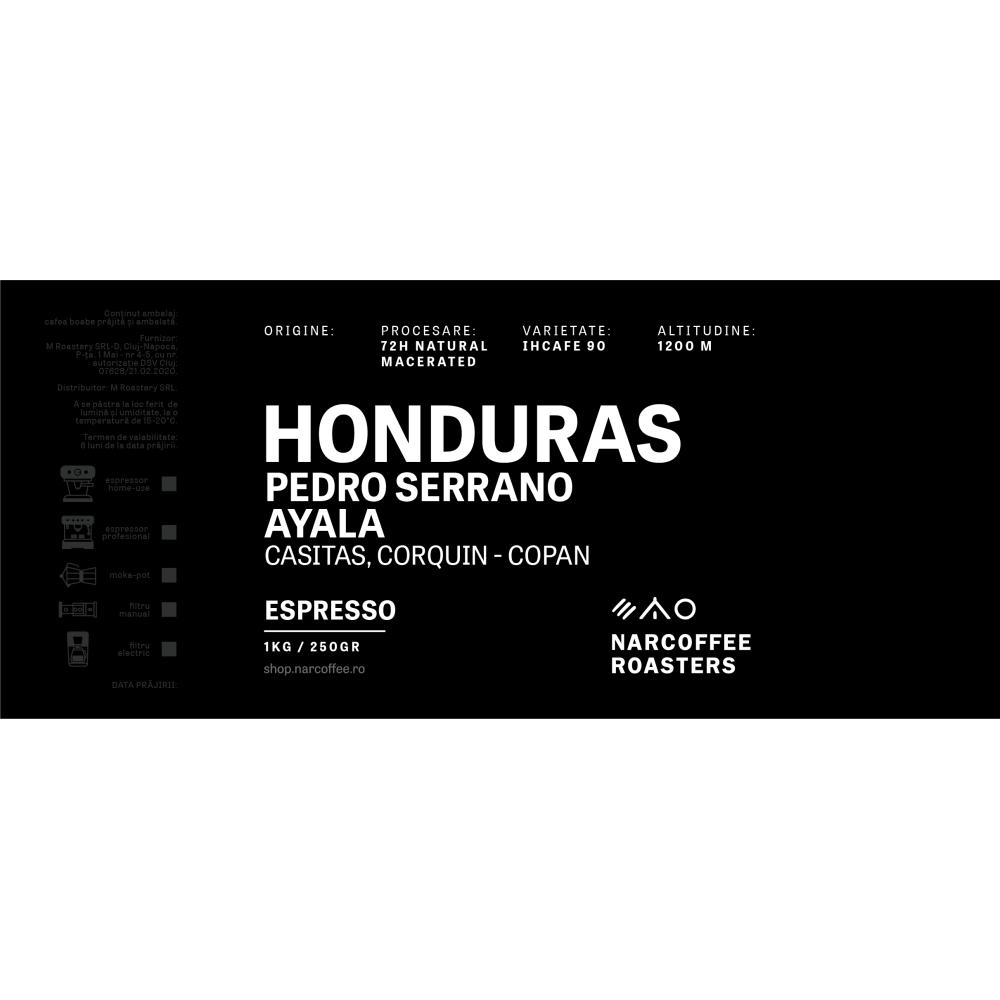 Honduras Pedro Serrano Espresso