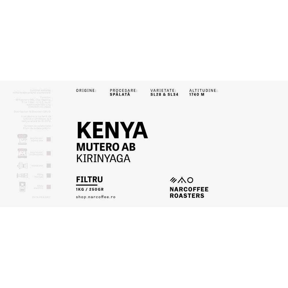 Kenya Mutero AB Espresso