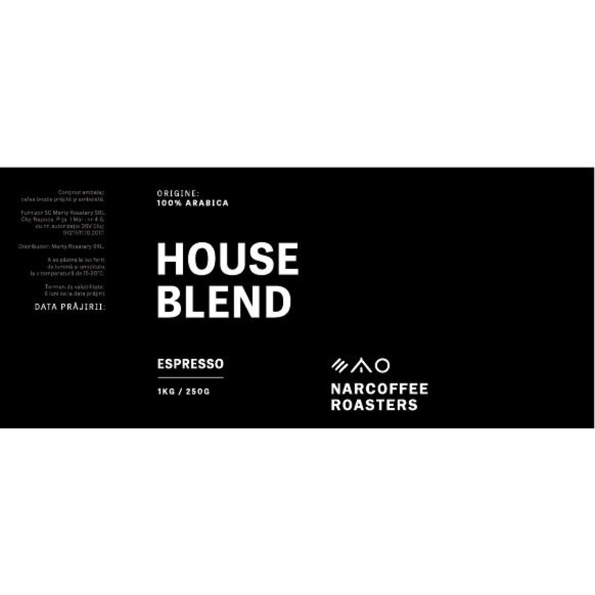House Blend 250g espresso