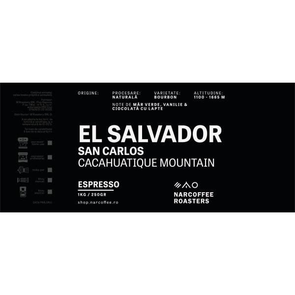 El Salvador San Carlos Espresso
