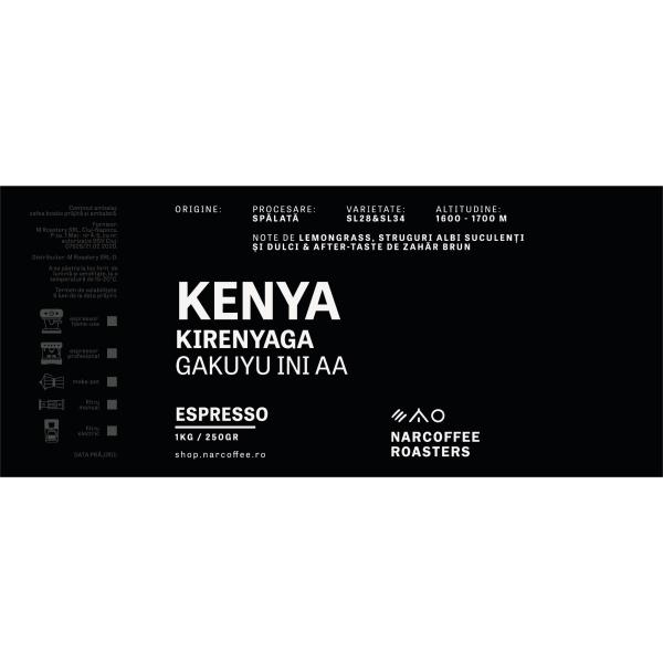 Kenya Kirenyaga Espresso