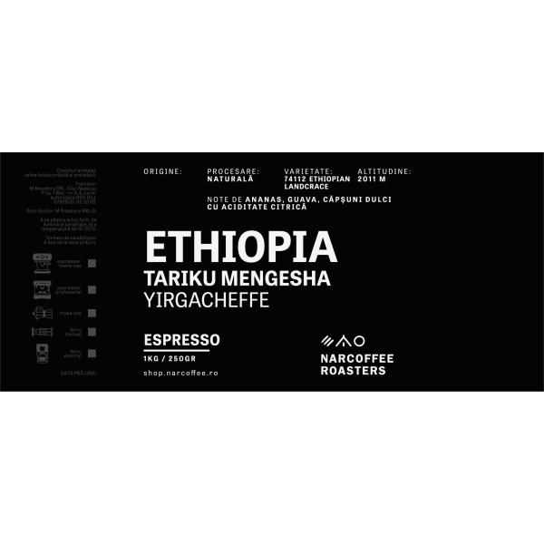 Ethiopia Tariku Mengesha Espresso