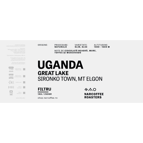 Uganda Great Lake Filtru
