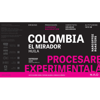 Colombia, El Mirador - Carbonic Maceration Espresso